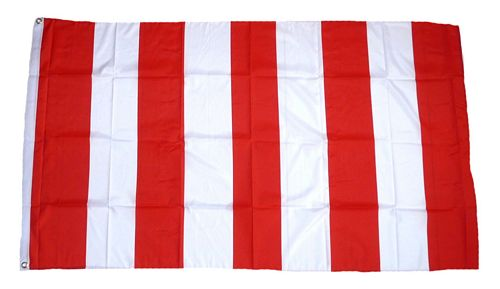 flagge fahne rot wei streifen hissflagge 90 x 150 cm ebay. Black Bedroom Furniture Sets. Home Design Ideas